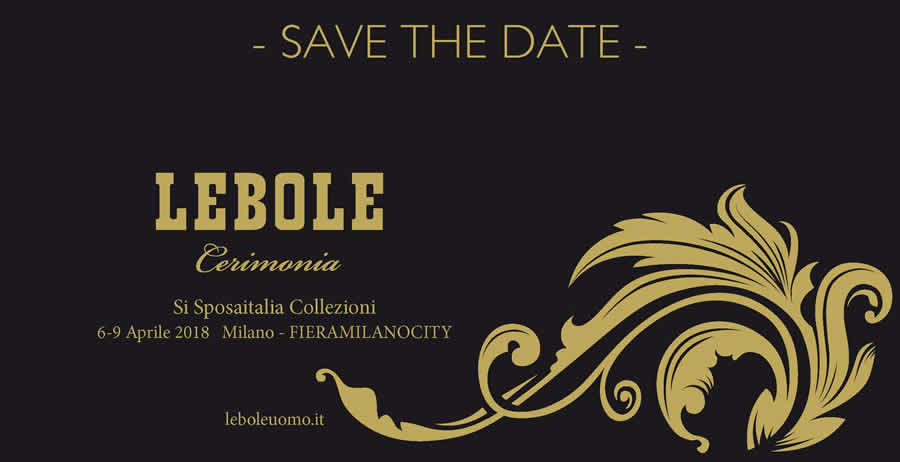 SAVE THE DATE_LEBOLE Cerimonia