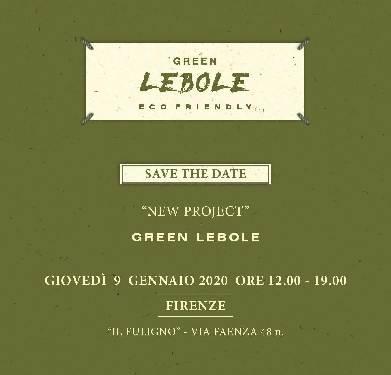 """New Project"" GREEN LEBOLE"