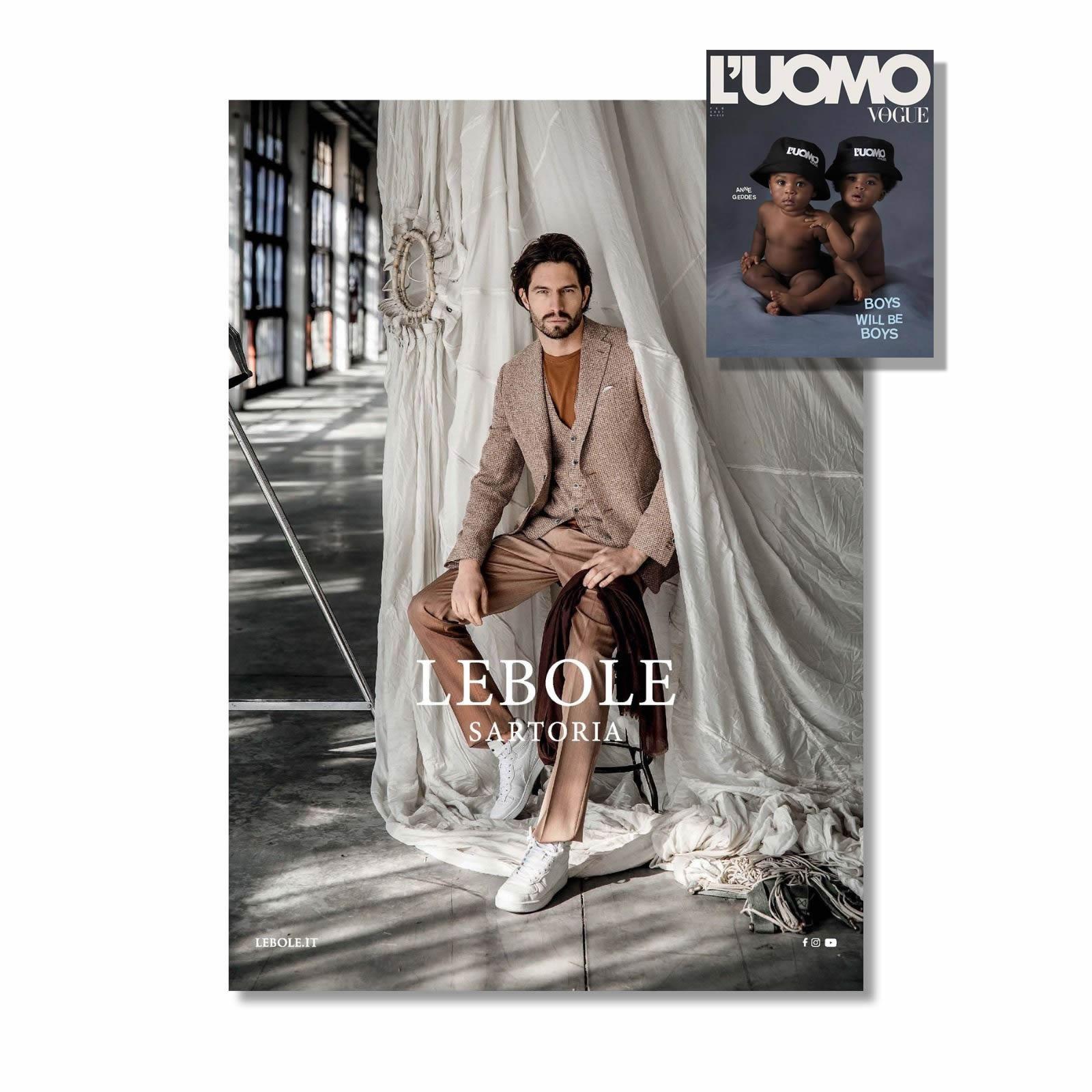 L'Uomo Vogue Febbraio 2021